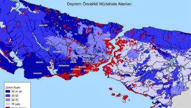 Photo of İstanbul Deprem Haritası Yayınlandı