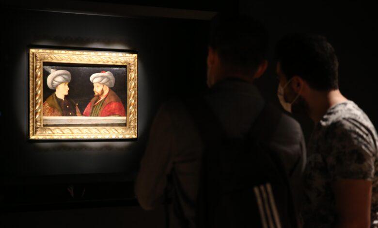 Fatih tablosu ziyarete açıldı