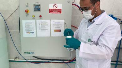 Photo of İBB Dezenfektan Üretti
