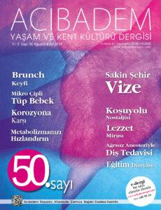 Acıbadem Dergisi Sayı 50 Oku