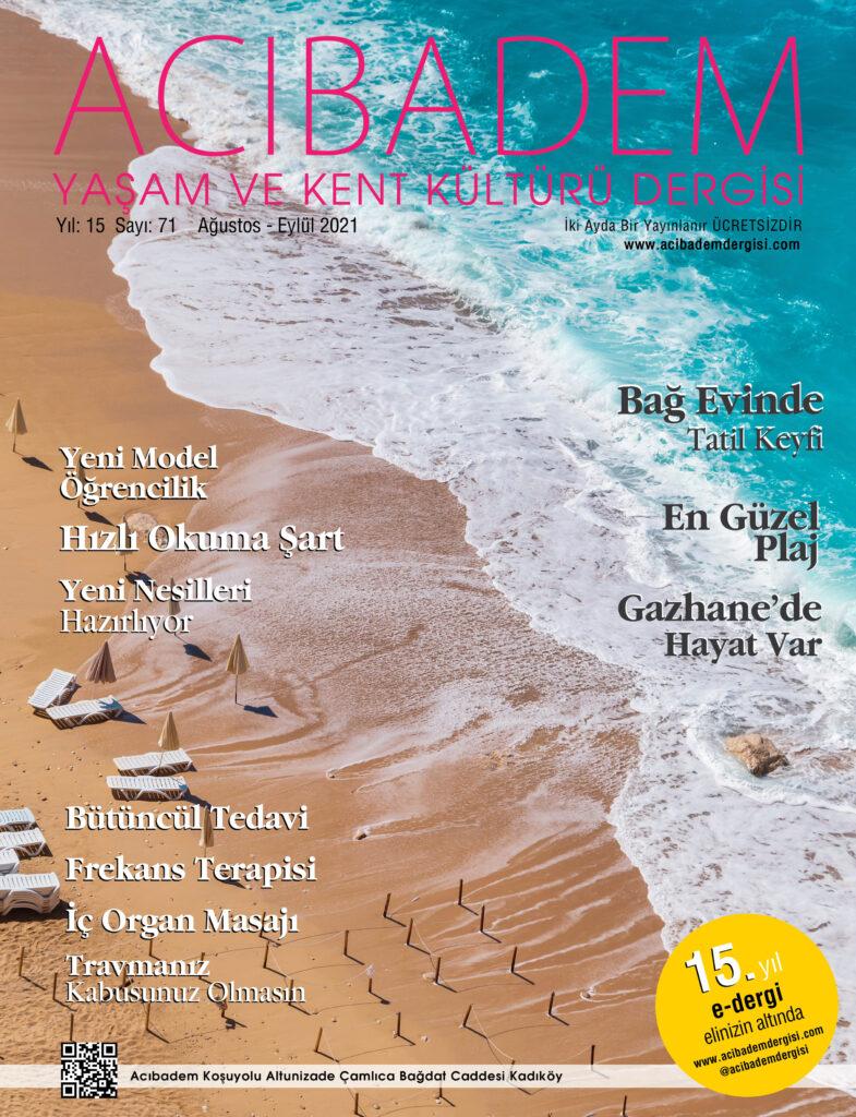 Acıbadem Dergisi Sayı 71 Kapak